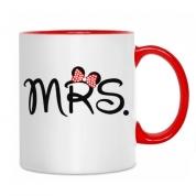 """Klasiskā krūzīte """"Mrs."""""""