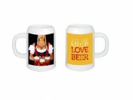 "Alus kauss 550 ml ""I love beer"""
